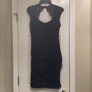 Formal Navy Dress - Bridesmaid Dress